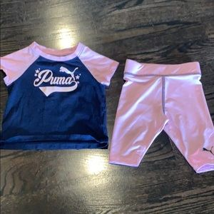 Baby Puma set